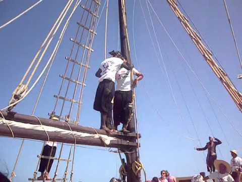 Tunisie_Djerba_Pirate ship by the Flamingo Island_튀니지 제르바섬 여행