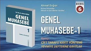 GENEL MUHASEBE -1 / Yevmiye Defterine Kayıtlar (2020)
