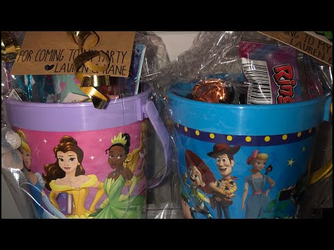 Princess loot bags | Toy Story loot bags | Party Favors