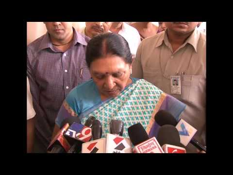 Gujarat CM's media byte after reviewing rainfall situations at Mahesana (Gujarati)