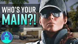 What Your Rainbow Six Siege Main Says About You! | The Leaderboard