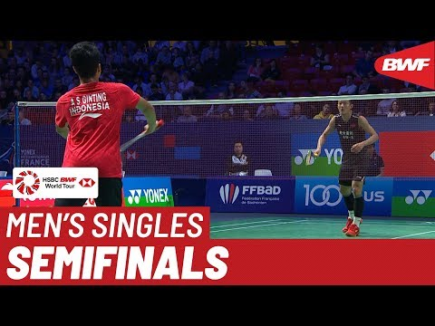SF | MS | Anthony Sinisuka GINTING (INA) [8] vs. CHEN Long (CHN) [5] | BWF 2019