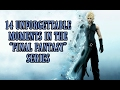 14 Unforgettable Moments In The Final Fantasy Series