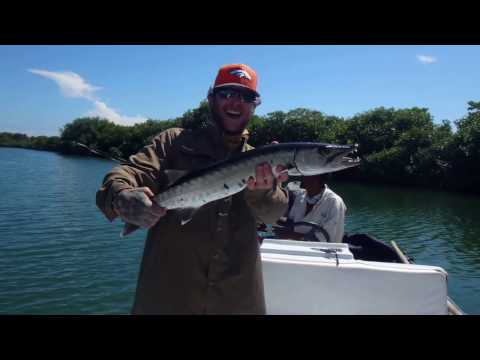 Three days of Guided Fly-fishing in Belize with Hardcore Fishing Charters