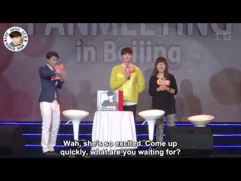 [ENG subs] 2014.10.19 Beijing fan meeting (Lee Jong Suk) - Part 2 of 2
