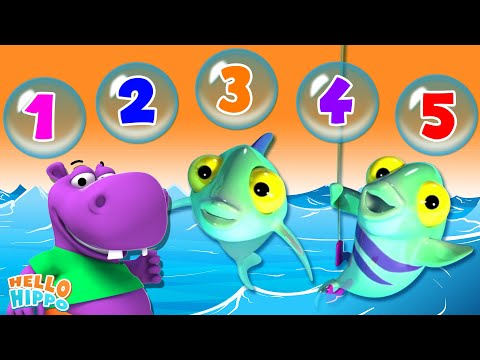 Learn Popular Nursery Rhymes Children s 3D Animation s  1234 Once I Caught A Fish & More