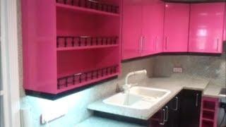 Lacado muebles cocina