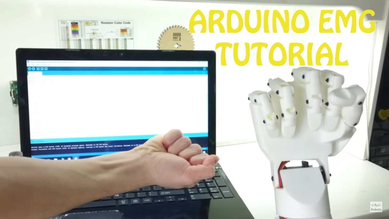 Arduino Muscle Sensor Emg Tutorial Youtube Cool Circuits Puts Your Brain To The Test