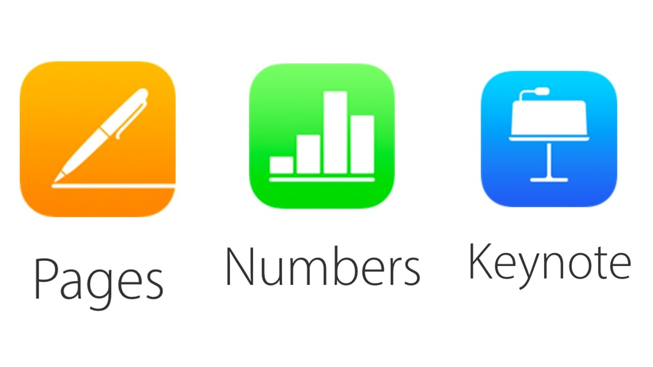 How to Update Pages version 6 1 Numbers to 4 1 and Keynote v7 1 - Mac