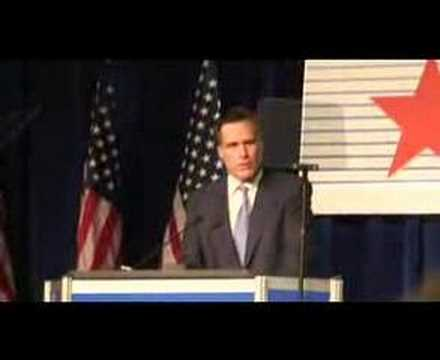Mitt Romney Speech at CPAC: Part 7
