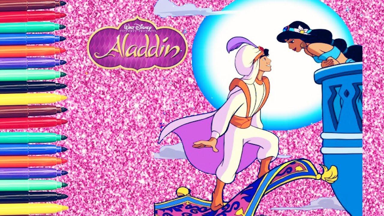 principessa disney jasmine aladdin da colorare coloring book il mondo mio beiland beiland