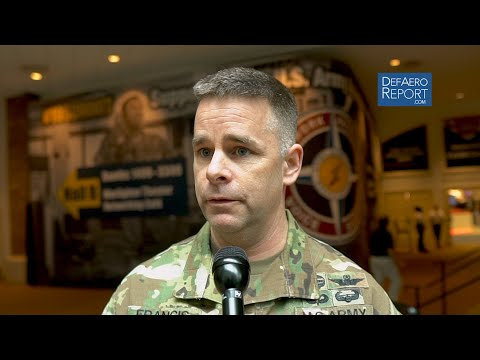 US Army Aviation's Francis On Training For A Contested Future, Readiness, Hard Program Choices