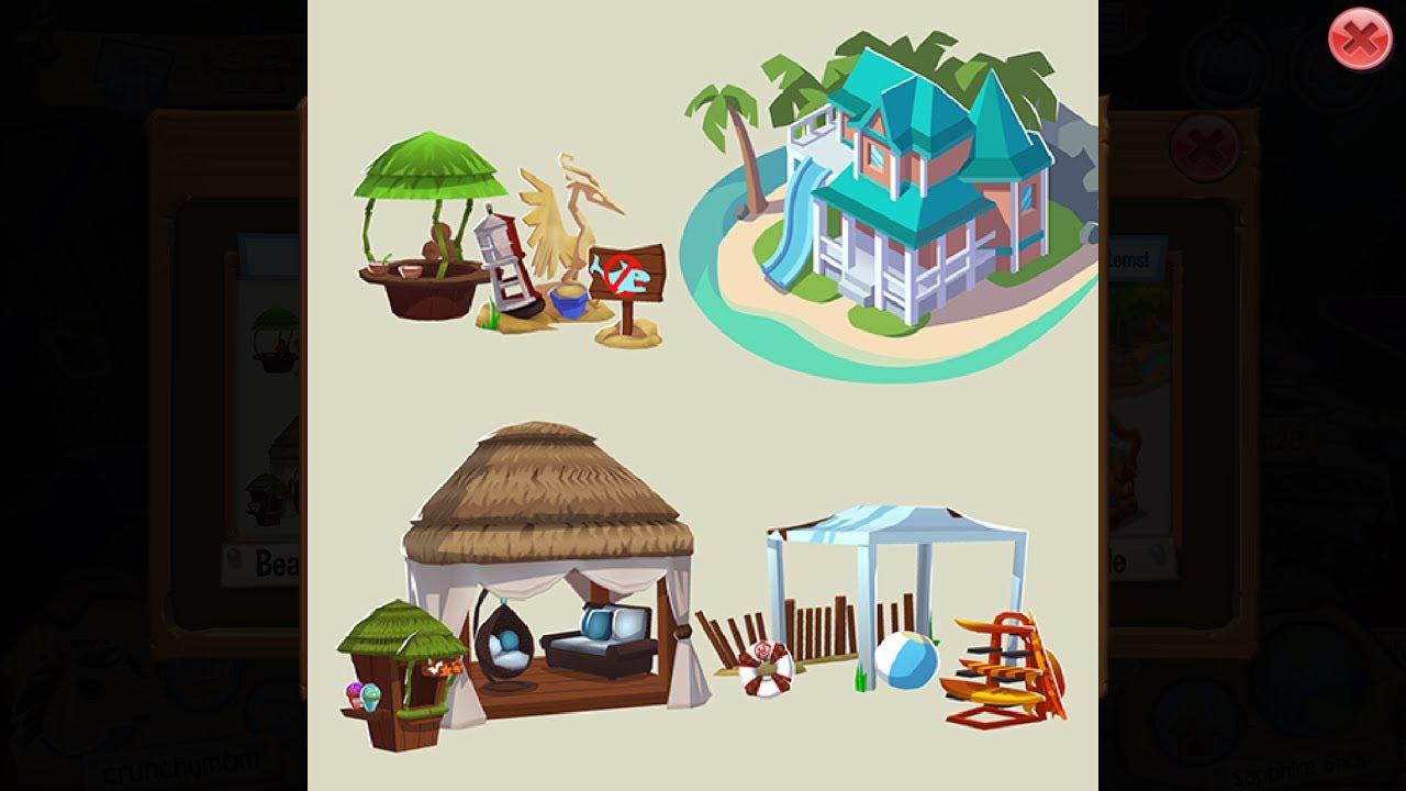Beach House Update Animal Jam Play Wild