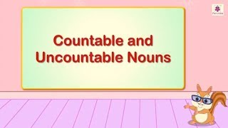 Countable And Uncountable Nouns | English Grammar | Periwinkle