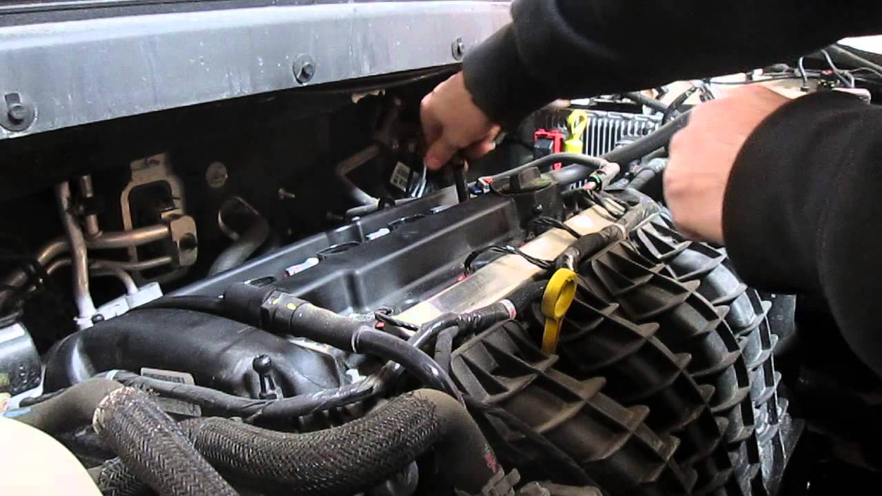 How To Change Spark Plugs On A Dodge Journey 2014 Youtube