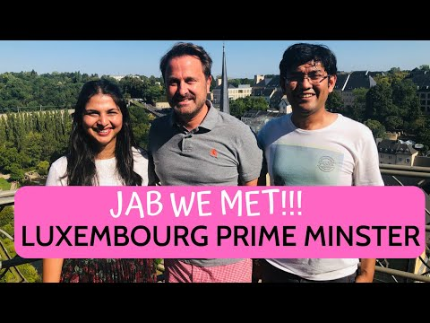 We Met Luxembourg PM On Streets | Luxembourg Travel Vlog Part 2 | Desi Couple On The Go