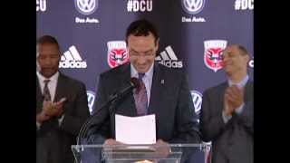 Mayor Gray & DC United Announce New World-Class Soccer Stadium, 7/25/13
