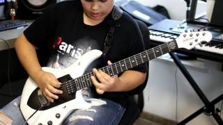 Dream Theater - A New Beginning Guitar Solo Cover