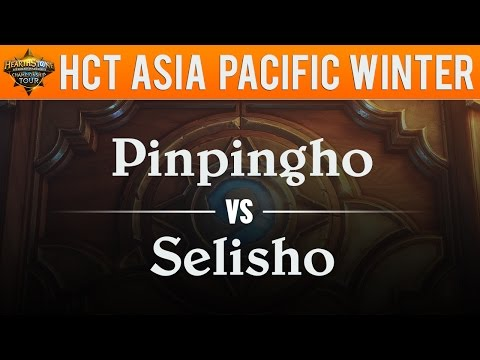 Pinpingho vs Seulisho - Hearthstone Championship Tour Asia Pacific Qualifier 2017:  Swiss Stage 1
