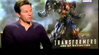 Transformer IV - Lead actor Mark Wahlberg speaks about EFLI, during his interview with CNN-IBN.