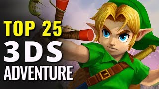 Top 25 Best 3DS Adventure Games
