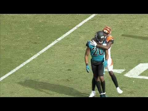 AJ Green vs. Jalen Ramsey FIGHT With Punches Thrown   Bengals vs. Jags   NFL
