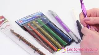 видео Выбор крючка для вязания