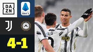 CR7 schießt Juve mit Schwung ins neue Jahr: Juventus - Udinese 4:1 | Serie A | DAZN Highlights