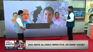 Elections 2018 Chhattisgarh: India Ahead - C Cube Opinion Poll Part 1