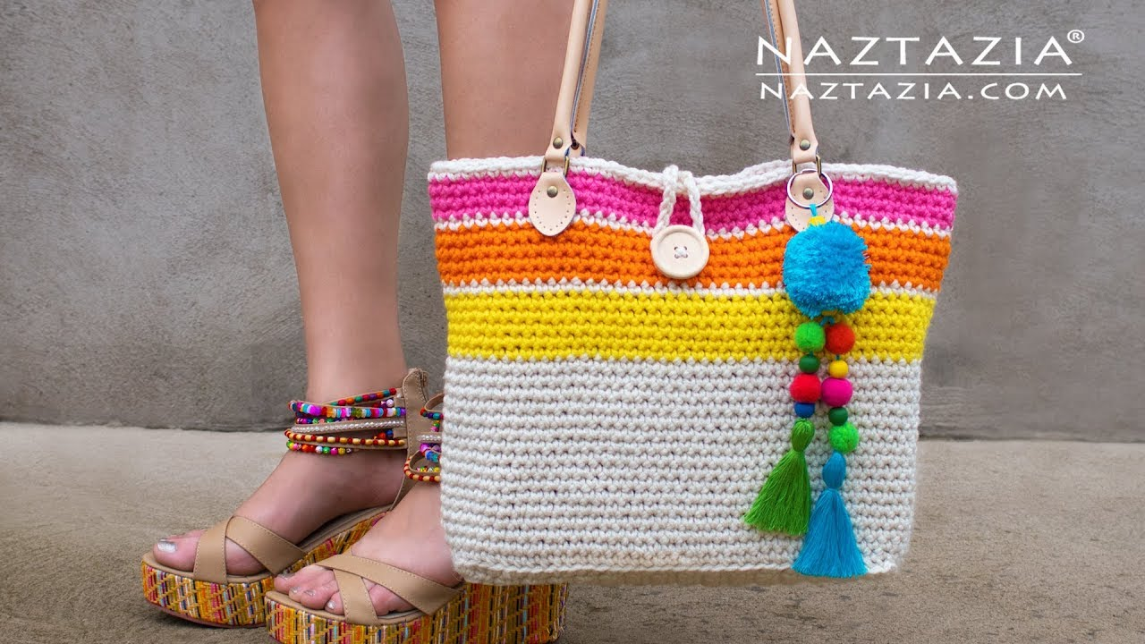 Download How to Crochet Sweet Simple Tote Bag by Naztazia