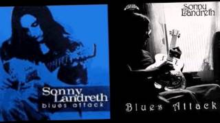 "Sonny Landreth ""Black White and Blue""(from the LP-Blues Attack-1981)"