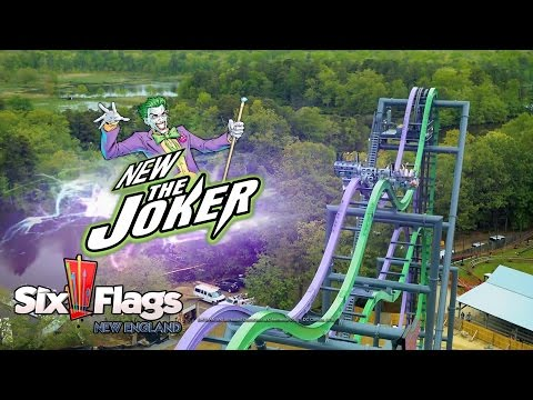 The Joker New Roller Coaster for Six Flags New England in 2017!