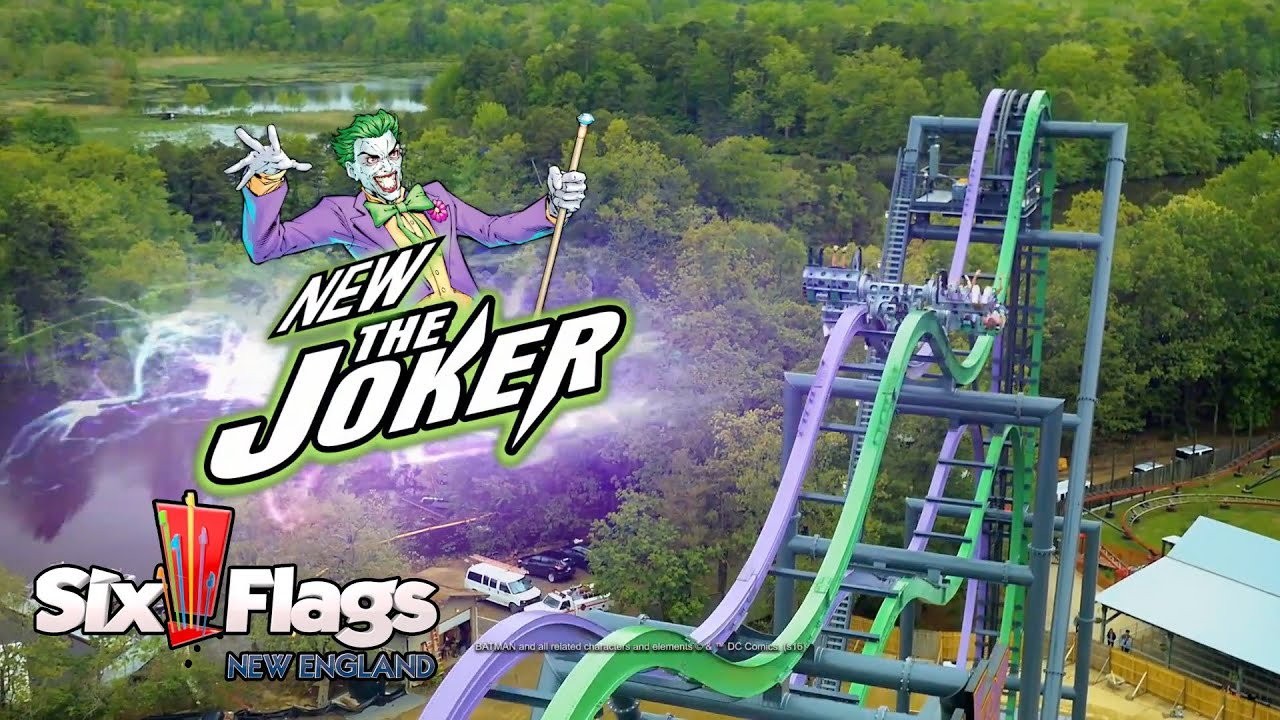 The Joker New Roller Coaster For Six Flags New England In 2017