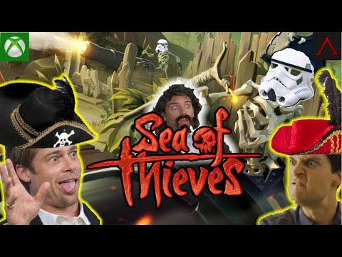 💀 Sea Of Thieves XBOX    Grinding Merchant, PVP, 💀Skull Forts. Xbox Live Stream Gameplay.