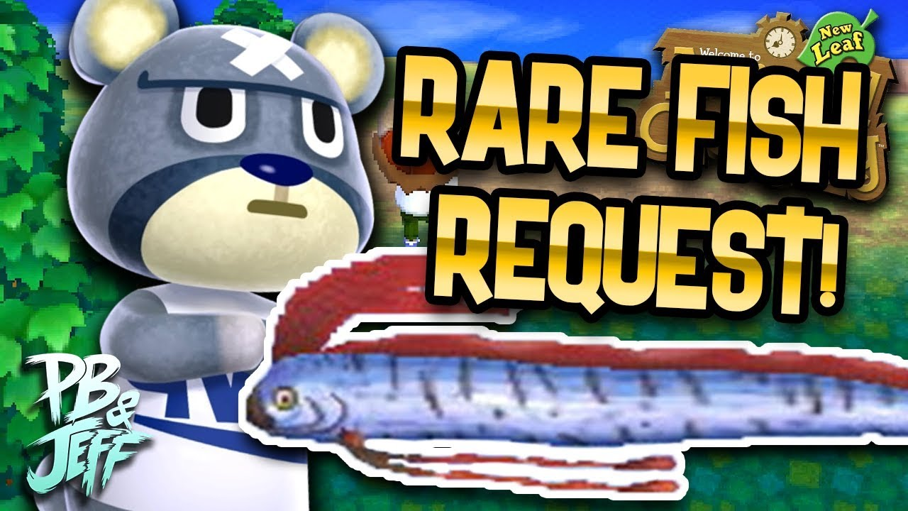 Animal Crossing: New Leaf | The Rare Oarfish (Part 6 ... Oarfish Animal Crossing