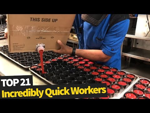 Incredibly Fast Workers 2019 | Amazing Workers (Super Speed)