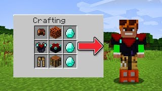 How to CRAFT ANY ARMOR in Minecraft!