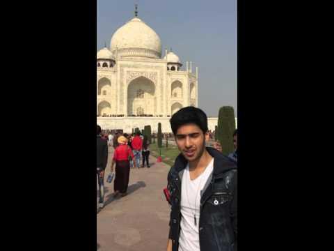 ARMAAN MALIK at the Taj Mahal