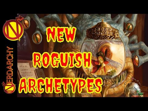 4 NEW Roguish Archetypes- Xanathar's Guide to Everything for 5E D&D