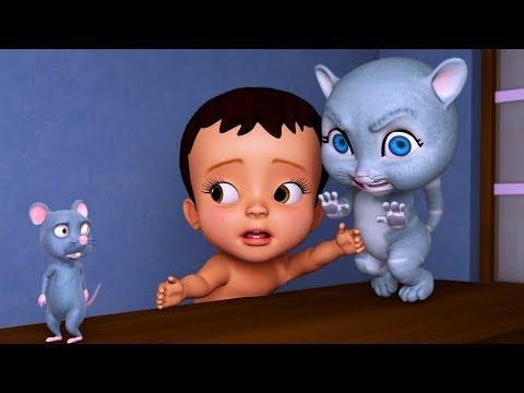 Chuhe Ne Kya Kiya? Bhaago Baag | Hindi Rhymes for Children | Infobells