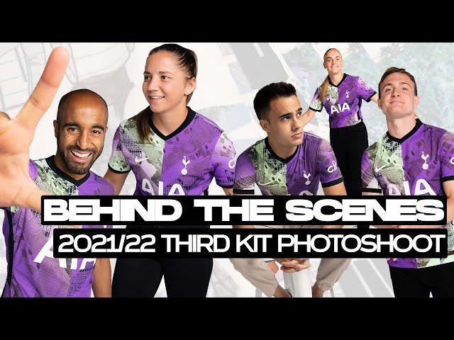 Reguilon, Lucas, Skipp, Graham & Bartrip! THIRD KIT PHOTOSHOOT BEHIND THE SCENES!