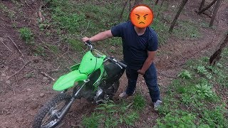 WE STOLE HIS PIT BIKE