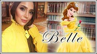My Belle Transformation   #YouTuberFairytale Photoshoot with Linda Blacker   Amena