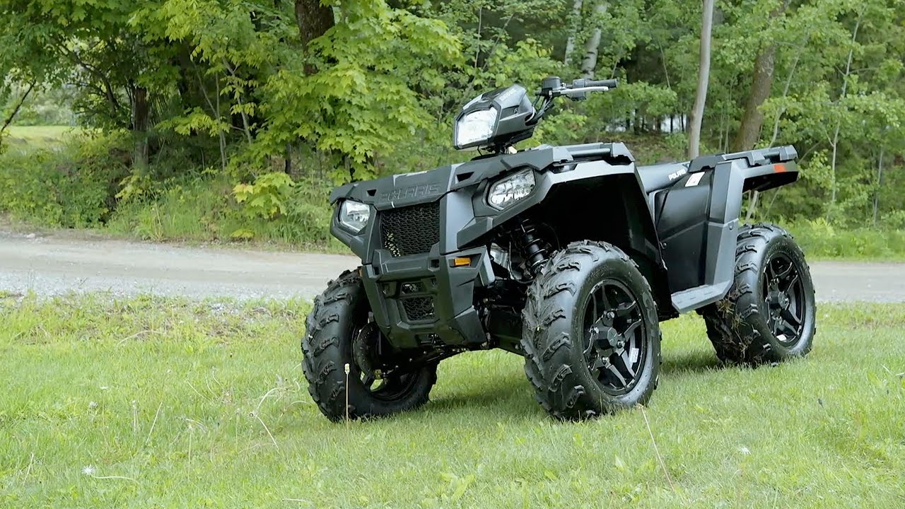 Full REVIEW: 2017 Polaris Sportsman 570 SP - YouTube
