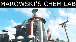 "Fallout 4 - How To Enter Marowski's Chem Lab - ""Diamond City Blues"" Quest - Four Leaf Puzzle"