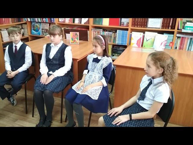 Изображение предпросмотра прочтения – «МОУ Аргаяшская СОШ № 2» читает произведение «Бородино» М.Ю.Лермонтова