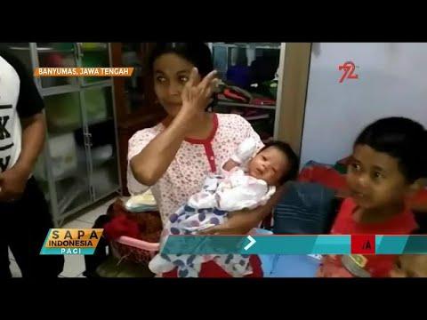 Warga di Banyumas Dapat Kiriman Bayi Laki - Laki