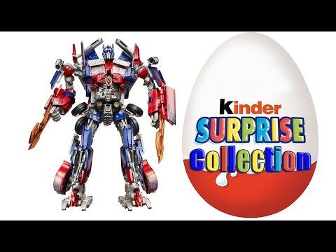 Прикольный робот Оптимус из Киндер Сюрприза. Optimus Prime Transformers 2 Revenge Of The Fallen