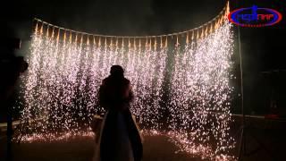 Свадебный Огнепад (пиротехническое шоу, проведение фейерверков)