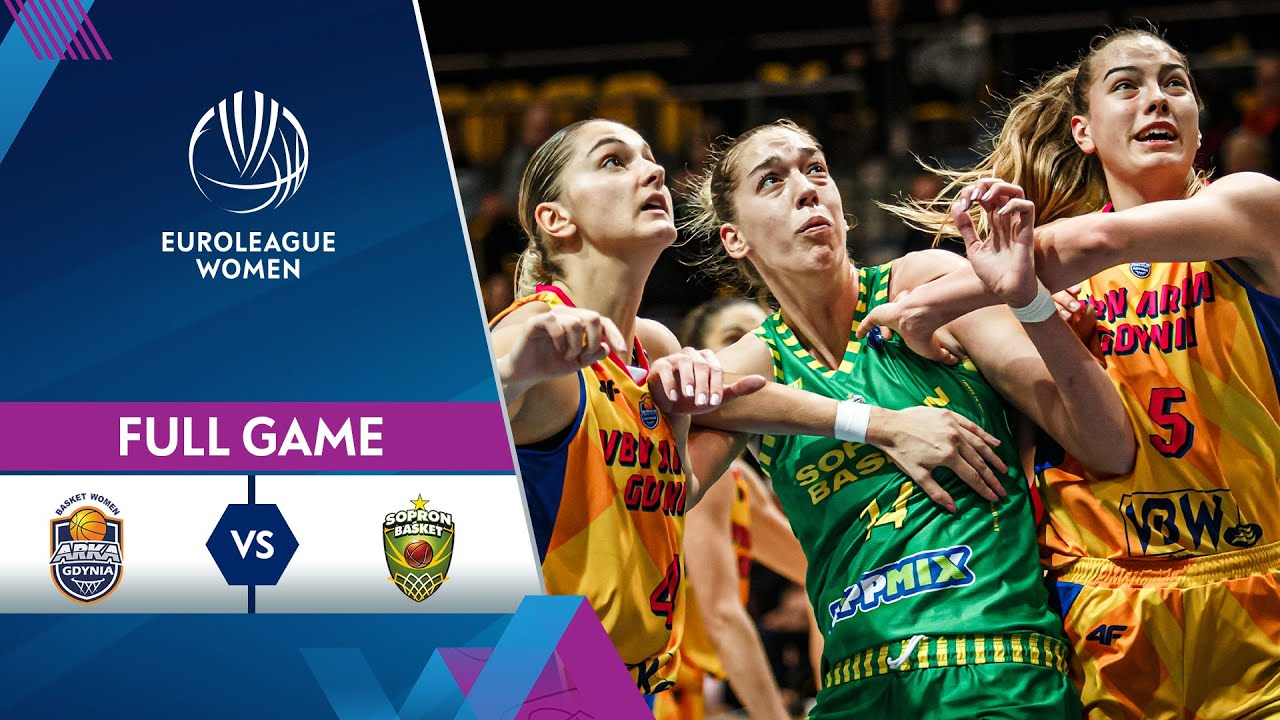 VBW Arka Gdynia v Sopron Basket | Full Game - EuroLeague Women 2021-22